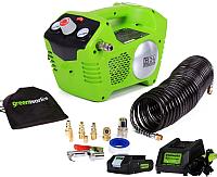 Воздушный компрессор Greenworks G24AC (4100302) -