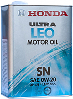 Моторное масло Honda Ultra Leo 0W20 SN / 0821799974 (4л) -
