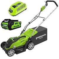 Газонокосилка электрическая Greenworks G40LM35K2 (2501907UA) -