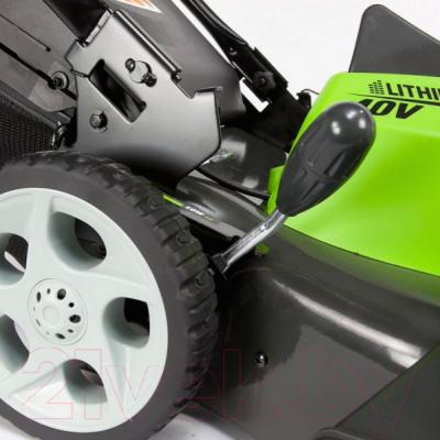 Газонокосилка электрическая Greenworks G40LM45 (2500107)