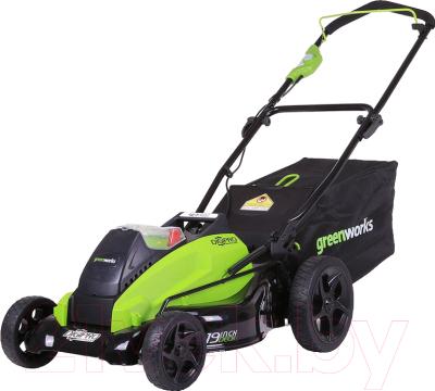 Газонокосилка электрическая Greenworks GD40LM45K4 DigiPro (2500407UB)