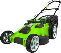 Газонокосилка электрическая Greenworks Twin Force G40LM49DB (2500207) -