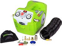 Воздушный компрессор Greenworks G40AC (4100802) -