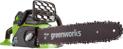 Электропила цепная Greenworks GD40CS40 DigiPRO (20077)