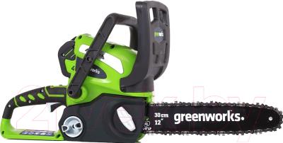 Электропила цепная Greenworks G40CS30 (20117)