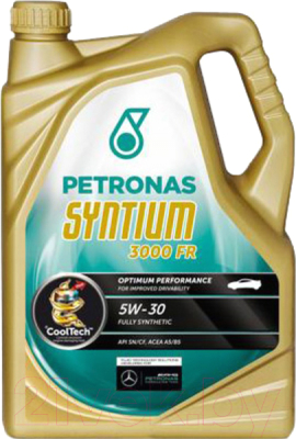 Моторное масло Petronas Syntium 3000 FR 5W30 / 18075019 (5л)