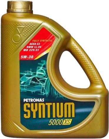 Купить Моторное масло Petronas Syntium, DEXOS2 5000 XS 5W30 / 18145019 (5л), Италия