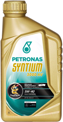 Моторное масло Petronas Syntium 3000 AV 5W40 / 18281619 (1л)