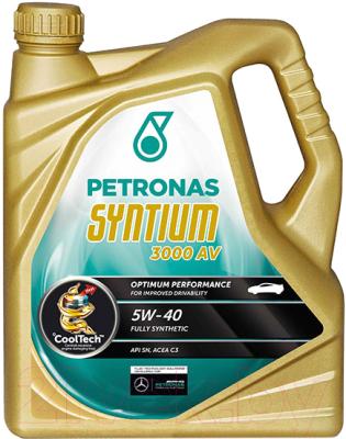 Моторное масло Petronas Syntium 3000 AV 5W40 / 18285019 (5л)