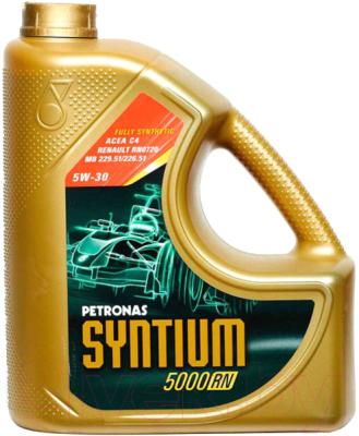 Моторное масло Petronas Syntium 5000 RN 5W30 / 18325019 (5л)
