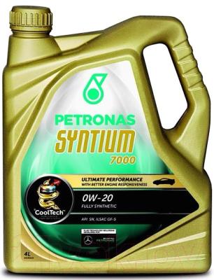 Моторное масло Petronas Syntium 7000 0W20 / 18364019 (4л)