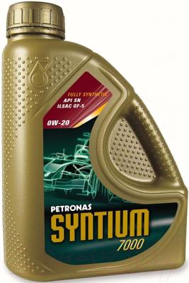 Моторное масло Petronas Syntium 7000 0W20 / 18365019 (5л)