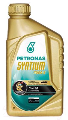 Моторное масло Petronas Syntium 7000 E 0W30 / 18551619 (1л)