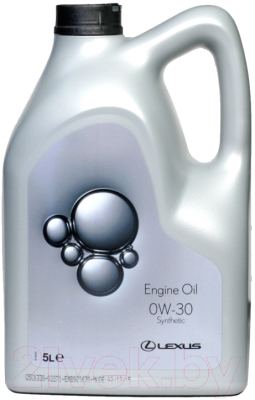 Моторное масло Toyota Lexus Engine Oil Synthetic 0W30 / 0888082645GO (5л)