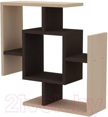 Полка 3Dom МФ108 (венге/береза)
