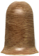 Уголок для плинтуса Ideal Комфорт 205 Дуб капучино (наружный) -