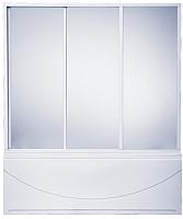 Стеклянная шторка для ванны BAS Кэмерон 120x145 -