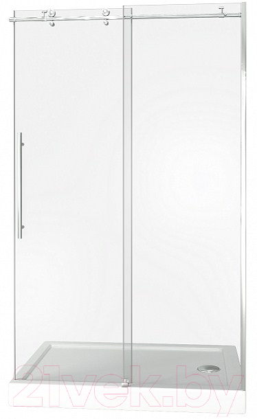 Купить Душевое ограждение Good Door, Puerta WTW-130-C-CH, Россия