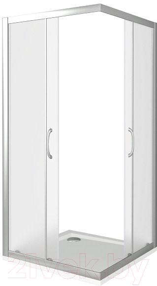 Купить Душевой уголок Good Door, Latte CR-80-G-WE, Россия