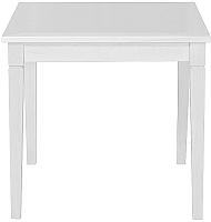 Обеденный стол Alesan Акс 80x80 (эмаль белая) -