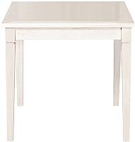 Обеденный стол Alesan Акс 80x80 (эмаль бежевая) -