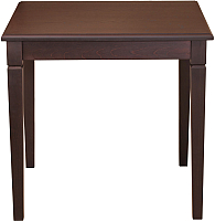 Обеденный стол Alesan Акс 80x80 (венге лак) -