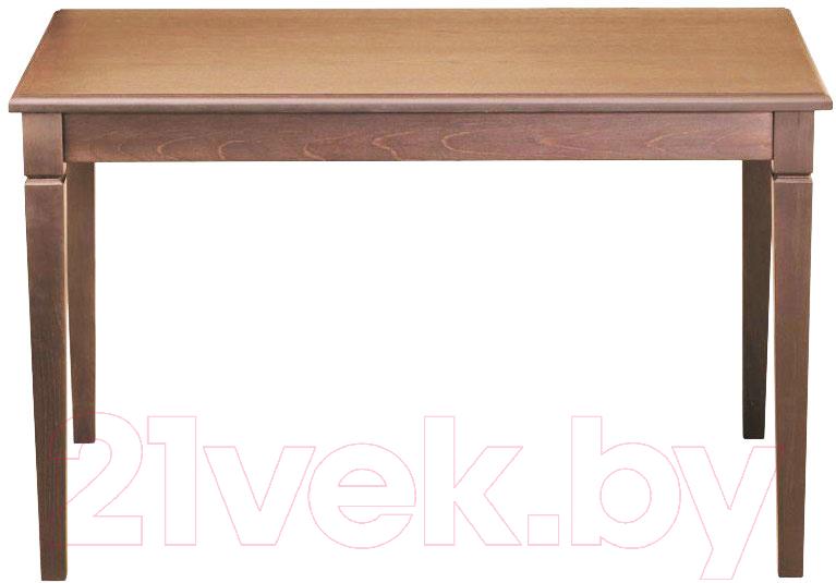Купить Обеденный стол Alesan, Акс 80x120 (орех лак), Беларусь