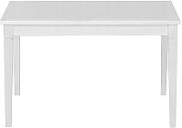 Обеденный стол Alesan Акс 80x120 (эмаль белая) -