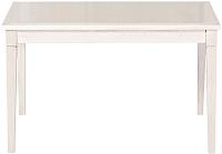 Обеденный стол Alesan Акс 80x120 (эмаль бежевая) -