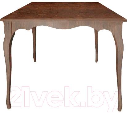 Купить Обеденный стол Alesan, Камелия 80x80 (орех лак), Беларусь