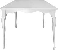 Обеденный стол Alesan Камелия 80x80 (эмаль белая) -