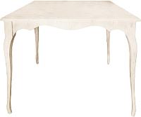 Обеденный стол Alesan Камелия 80x80 (эмаль бежевая) -
