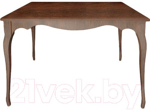 Купить Обеденный стол Alesan, Камелия 80x120 (орех лак), Беларусь