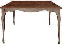 Обеденный стол Alesan Камелия 80x120 (орех лак) -