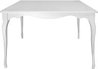 Обеденный стол Alesan Камелия 80x120 (эмаль белая) -