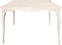Обеденный стол Alesan Камелия 80x120 (эмаль бежевая) -