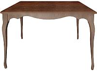 Обеденный стол Alesan Камелия 70x110 (орех лак) -