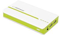 Портативное зарядное устройство Esperanza Atom 11000mAh / EMP107WG (белый/зеленый) -