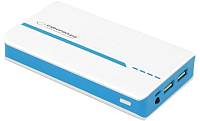 Портативное зарядное устройство Esperanza Atom 11000mAh / EMP107WB (белый/голубой) -