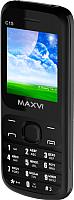 Мобильный телефон Maxvi C15 (черный) -