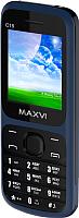 Мобильный телефон Maxvi C15 (маренго/черный) -