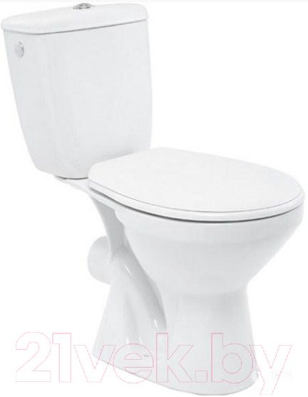 Купить Унитаз напольный Cersanit, Mito Grey 373 010, Россия, фаянс/санфаянс