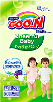 Подгузники-трусики Goo.N Сheerful Baby ХL (42шт) -