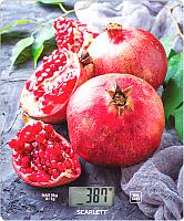Кухонные весы Scarlett SC-KS57P30 (сочный гранат) -