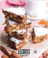 Кухонные весы Scarlett SC-KS57P32 (ореховое печенье) -