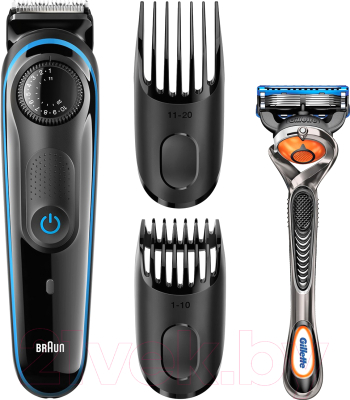 2bcdd2476eb8 Машинка для стрижки волос Braun BT3040 (+бритва Gillette Fusion ProGlide)