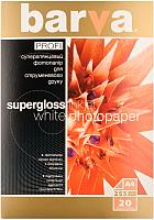 Фотобумага Barva Profi IP-R255-061 (белый суперглянец) -