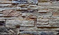 Декоративный камень Baastone Сланец Классический желто-коричневый-оранжевый 103 (375x90x8-14) -