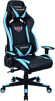 Кресло геймерское Седия Mustang Eco (черный/синий) -