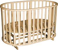 Детская кровать-трансформер Антел Северянка-3 (слоновая кость) -